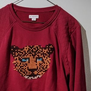 PacSun Cropped Sweatshirt